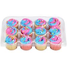 Two Bite Mini Unicorn Cupcakes 12 Count Cupcakes Meijer Grocery