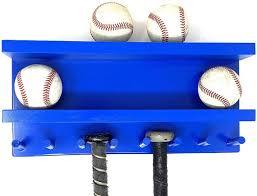 baseball bat rack display holder wall