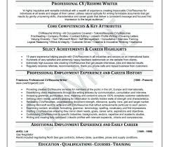 Outstanding Professional Resume Writing Services Edmonton Ensign