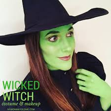 wicked witch costume makeup
