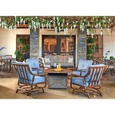 trisha yearwood furniture outdoor and 4 demo denim stationary chairs trisha yearwood furniture s