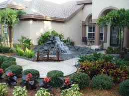 Small Picture Landscaping Ideas Front Yard Wall Best Garden Reference