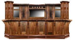 Aged Barnwood Custom Bar