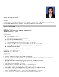 Credit Analyst Resume Interesting Credit Analyst Resume
