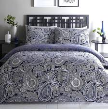 paisley quilt bedding topaz navy cover sets whole cloth quilted paisley quilt
