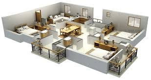 3d floor plans elegant in small home remodel ideas with 3d floor plans