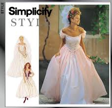 Simplicity Wedding Dress Patterns