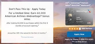 Manage your american airlines credit card account online, any time, using any device. Improved 65 000 Points Sign Up Bonus On This Aadvantage Credit Card Targeted