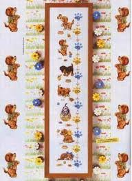 Cross Stitch Height Chart Kit Top Quality Beautiful Lovely Counted Cross Stitch Kit Height