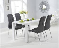 dining furniture atlanta. atlanta 120cm white high gloss dining table with calgary chairs furniture l