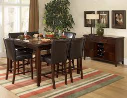 dining table interior design kitchen:  amazing antique bar height dining table and chairs interior design ideas with tall dining room table