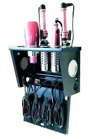 tabletop blow dryer hair iron holder salon appliance stand station hair appliance holder wall mount organizer blow