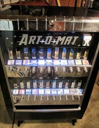 Cigarette Vending Machine For Sale Amazing Artomat Retired Cigarette Vending Machines Converted To Sell Art