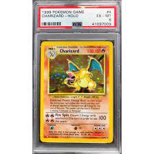 Charizard - 4/102 Base Set Unlimited - PSA 6 Holo EX-MT