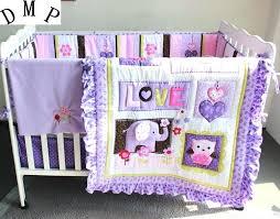 purple nursery bedding purple baby bedding set baby crib bedding sets nursery bedding skirt in bedding