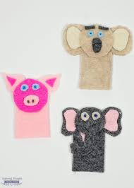 how to make felt finger puppets free printable template included