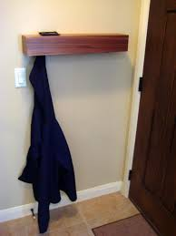 Behind The Door Coat Rack Behind The Door Coat HangerShelf 13