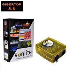 Sunlite Dmx Lighting Software Us 260 0 New Version Genuine Software Sunlite Suite1024 Sunlite Dmx Controller Dmx 1024 Channels Sunlite1024 Easy To Use Plug And Play In Stage