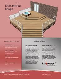 Deck Design Tool Deck Design Software From Luxwood Remodeling