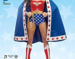 Wonder Woman Costume Pattern Cool Wonder Woman Pattern Etsy