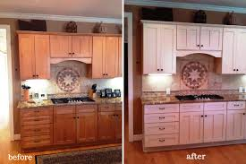 painting cabinets whitePainting Kitchen Cabinets Before and After Photos  All Home