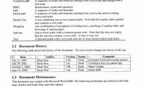 Business Requirement Specification Document Template Inspirational ...