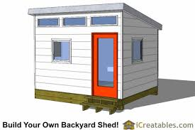 office shed plans. 10x12 Modern Shed Design Office Plans