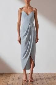 Core Cocktail Dress Powder Blue
