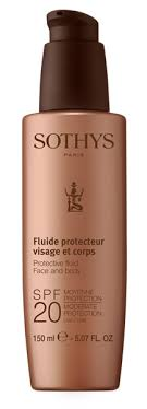 <b>Sothys Protective Fluid</b> Face And Body SPF20 Moderate <b>Protection</b> ...
