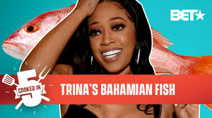 Trina Brings The Miami Heat With Her Caribbean-Style Spicy Fish ...