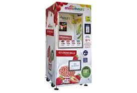 Mini Melts Vending Machine Delectable Mini Melts Ice Cream Balls That The World Has Come To Love