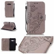 TUKE For Samsung J1 ACE J110 Case <b>Leather</b> TPU Embossed ...