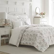laura ashley rosalie flannel duvet cover set