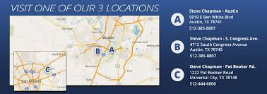 visit one of our three locations in austin universal city