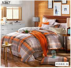 amazing gray and orange bedding magiel for orange and grey comforter