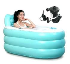 single person hot tub fashion adult spa inflatable bath with air pump one u18
