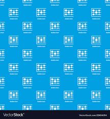 Bubble Chart Pattern Seamless Blue