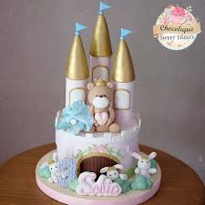 Bear In Castle Cake For Sofia Chocolique