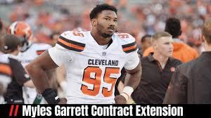 Myles Garrett Contract Extension ...