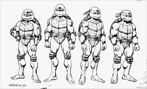 Coloring Sheets Free Collection Of 40 Ninja Turtles Coloring Book