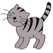 Cat Kitten Kleurplaat Kleuter Child Cat 992992 Transprent Png