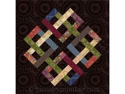 Zentricity II paper pieced quilt block pattern celtic knot & Zentricity II - paper pieced quilt block pattern, celtic knot quilt pattern,  medallion, foundation piecing Adamdwight.com