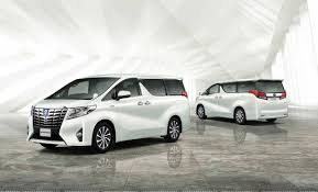 new car launches in japanToyota launches hybrid Atkinsoncycle engine Alphard  Vellfire