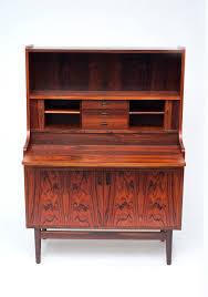 rosewood secretary desk best of danish rosewood secretary desk by bornholm mobler at 1stdibs