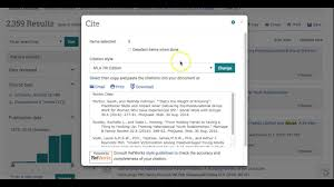 Demo Easy Citations From Proquest Databases