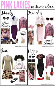 grease costume idea the pink las t birds sandy dy love these