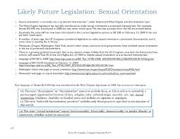 hot topics by drew capuder  capuder fantasia pllc 13 likely future legislation sexual orientation