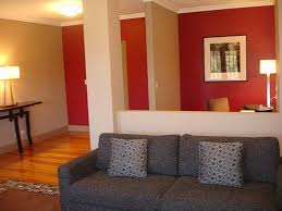 cherry red wall
