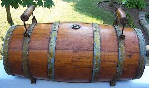 16 oak wood water cask nautical antique rum or keg and