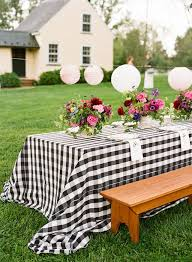 keep tablecloths from blowing away